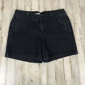 Dockers Womens Shorts 8 Blue Denim Casual VC10